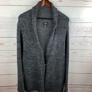 Eileen Fisher | Gray Wool Blend Cardigan Sweater